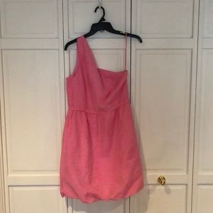 J. Crew one shoulder dress